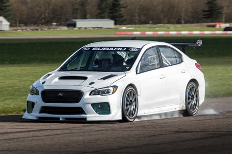 subaru prodrive prodrive attempts isle of record in a subaru wrx sti