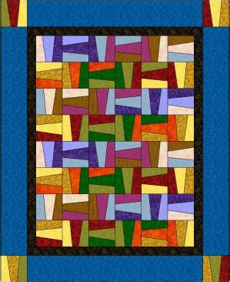 Fence Rail Quilt Pattern by Rail Fench Quilt Pattern Free Quilt Pattern