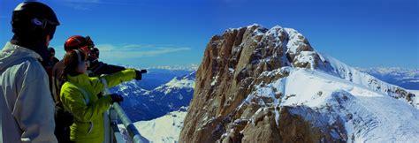 terrazza sulle dolomiti marmolada tour con gli sci sulle tracce della grande