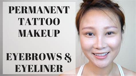 tattoo eyeliner does it hurt permanent makeup tattoo eyebrow eyeliner experience