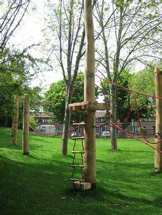 backyard zip line with seat backyard zip line zip line build pics posts chain seat