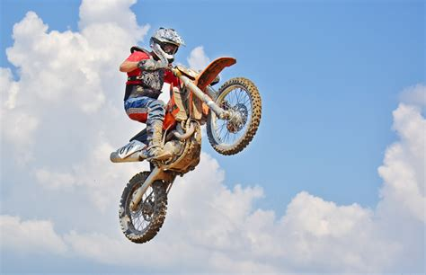 motocross bike free on a motocross dirt bike 183 free stock photo