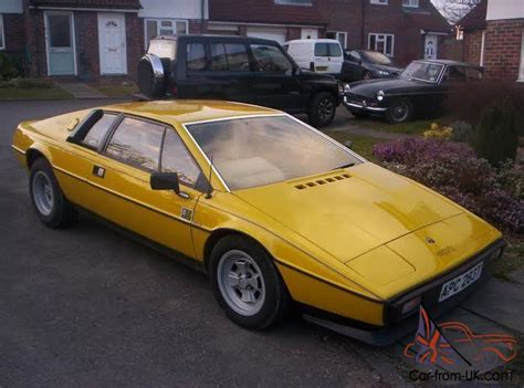 lotus esprit s2 for sale uk highly collectable lotus esprit s2 1978