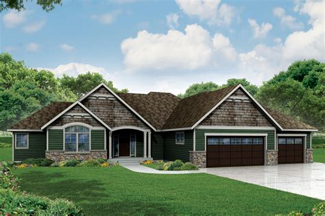 What Is A Ranch Style House by Ranch House Plans Creek 30 878 Associated Designs