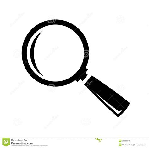 glass svg magnifying glass clipart black and white www imgkid com