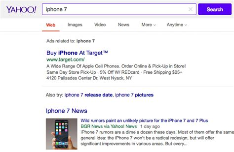 Yahoo Search Usa Gray Background Tested By While Yahoo Tests Top Search Bar Profitbysearch