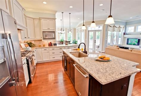 Open Concept Kitchen Designs Open Concept Kitchen Living Room Design Ideas