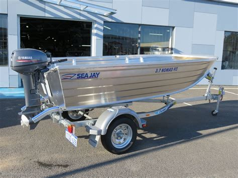 trailer boats online new sea jay 3 7 nomad quot high side quot trailer boats boats