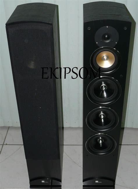 caixa torre home theater pure acoustics proxima preta