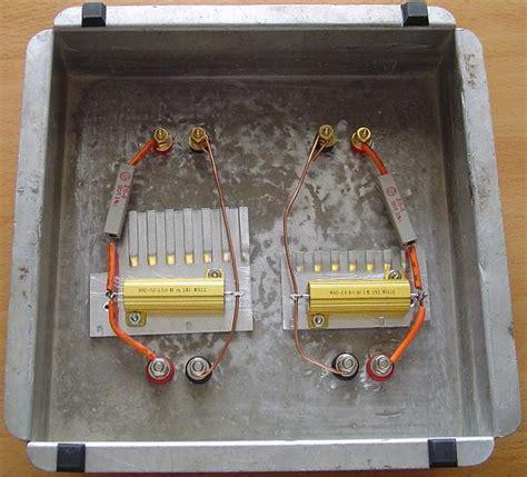 diy dummy load resistors dummy speaker load everythingsg
