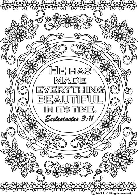 scripture coloring pages 15 bible verses coloring pages
