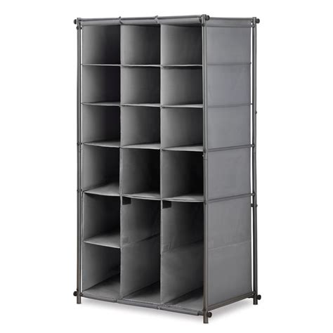 shoe and boot cabinet whitmor 16 pair gunmetal shoe and boot cabinet steel shoe