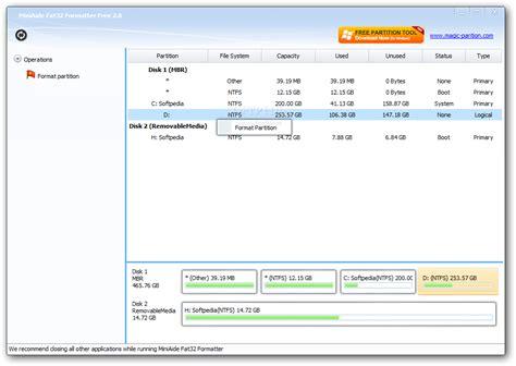 format fat32 ntfs miniaide fat32 formatter 2 0 hardas lt