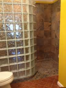 curved prefabricated glass block shower wall dayton ohio