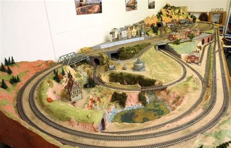 ho layout design and construction ho train layout construction all in one ho scale model