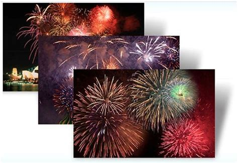 new year themes free download for windows 7 download arctic and fireworks windows 7 themes from