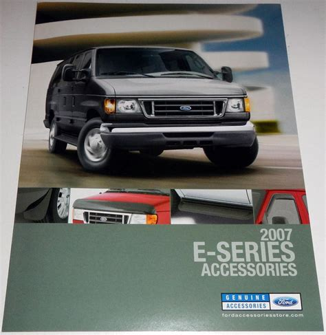 ford accessories brochure buy 2007 ford e series accessories brochure motorcycle in