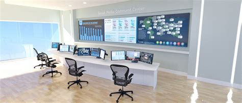 design center command social media command centers