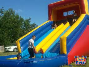Backyard Inflatable Water Slide by Pics Photos Water Slides