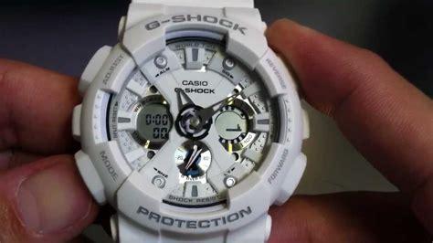 G Shock Ga 100a 7a Original white casio g shock analog digital xl ga120a 7a