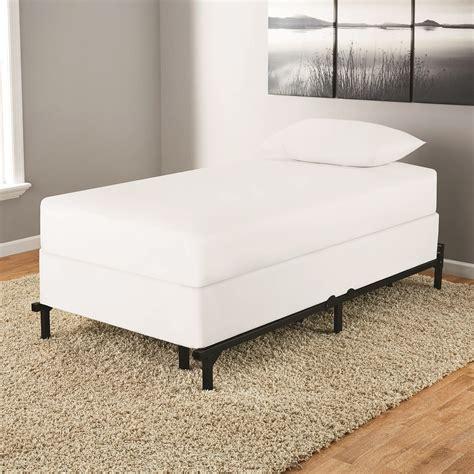 adjustable metal bed frame mattress platform heavy duty