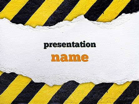 powerpoint themes construction under construction themed presentation template for