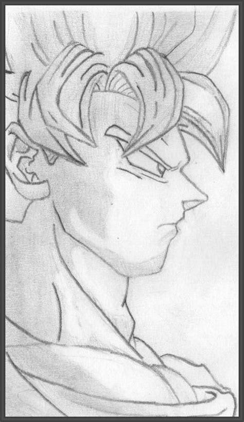 imagenes para dibujar a lapiz de goku dibujos de goku gallery of dibujos a lapiz de dragon ball