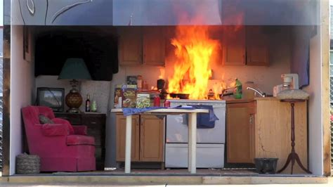 How Do Kitchen Fires Start by Demonstration Underscores The Danger Of Kitchen Fires