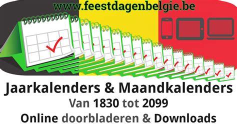 Kalender 2018 Schoolvakanties Belgie Kalender 2018 Jaarkalender Belgie Verlengde Weekends