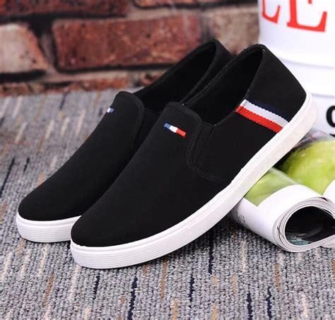 Sepatu Led Beibei White Black sepatu slip on pria size 42 black jakartanotebook