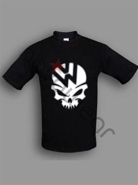 vw skull  shirt blue vw accessories volkswagen clothing vw caps