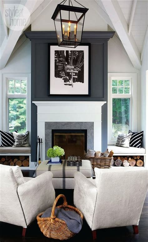 seating in front of fireplace living room vaulted ceiling design ideas