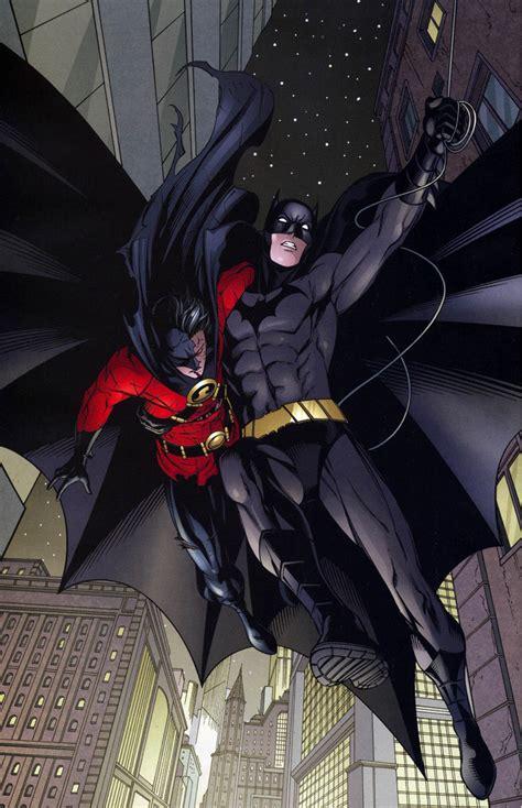 batman dick grayson rescues red robin comicnewbies