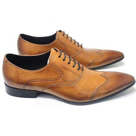 Sepatu Boots Kulit Wingtip inspirasi sepatu kulit manding leather brogues shoes