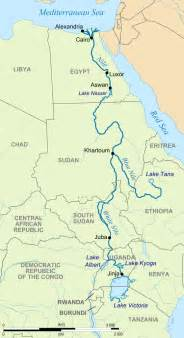 Nile River On World Map by File River Nile Map Svg Wikimedia Commons