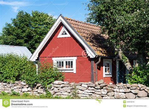 swedish farmhouse plans typical swedish farmhouse stock image image 44915019