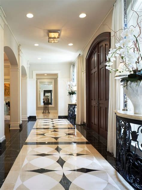 houzz entryway entryway marble floor medallion houzz