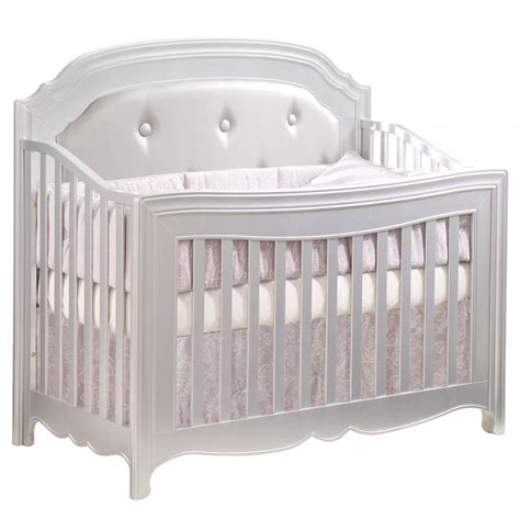 Silver Baby Cribs Natart 4 In 1 Convertible Crib Without Rails
