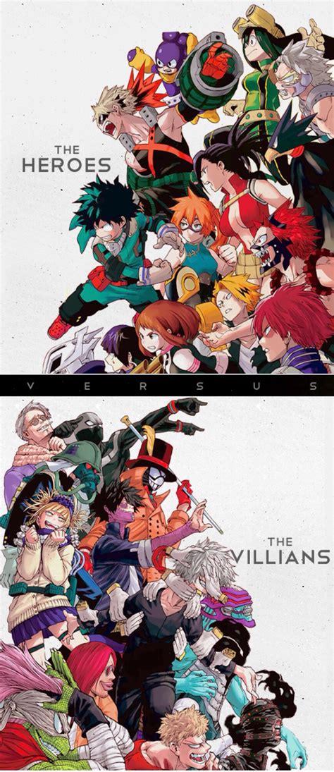 my hero academia 3 8416816611 heroes vs villians boku no hero academia my hero academia hero anime and manga