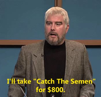Suck It Trebek Meme - mine snl gifs find share on giphy