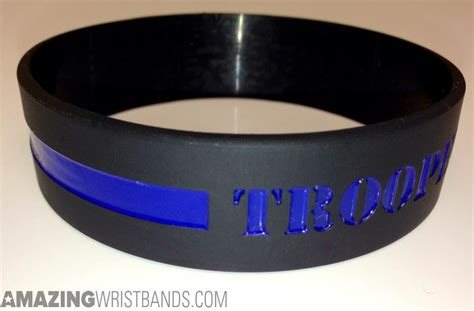 What Does Thin Blue Line Wristbands Represent? Design Now