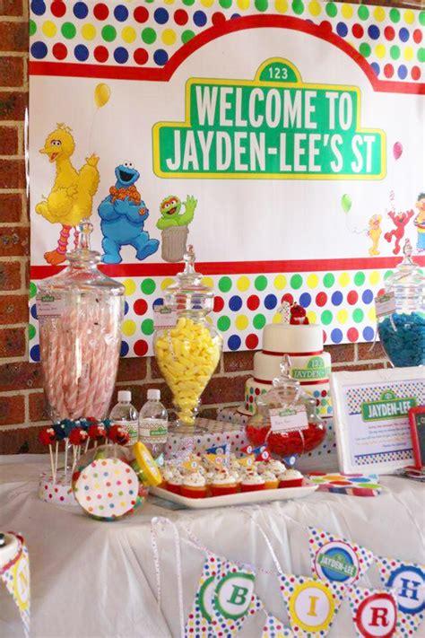 birthday themes sesame street sesame street party jayden lee is 1 chickabug