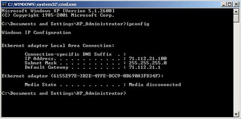 how do i my to attack on command how can i find out my ip address in windows xp ask dave