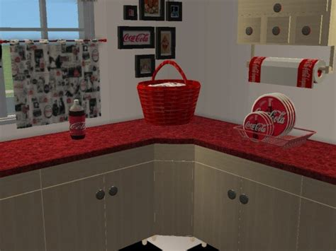 Coca Cola Kitchen by Mod The Sims Coca Cola Kitchen Maylin Country Kitchen