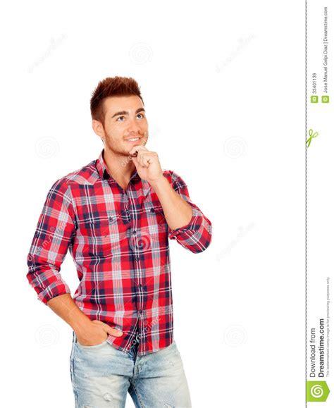 imagenes vip para hombres hombres jovenes pensativos imagen de archivo imagen de