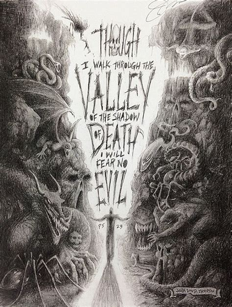 valley of the shadow of death tattoo inspiration