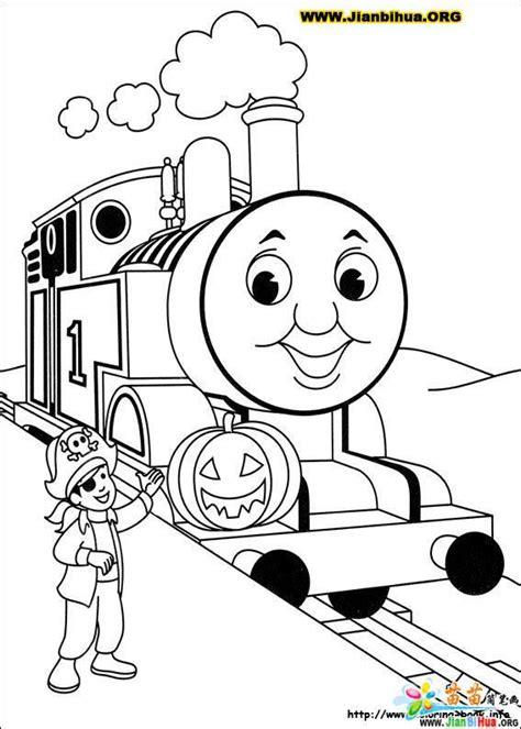 托马斯与小火车简笔画39张 第33张 Percy The Coloring Pages