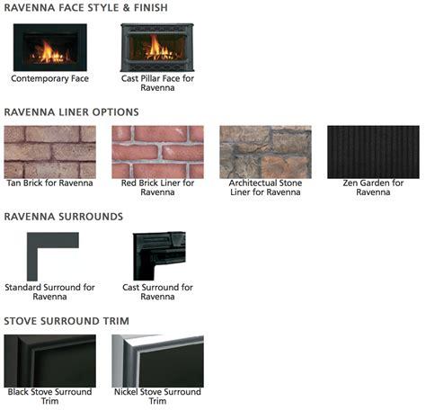 lennox gas fireplace inserts ironstrike ravenna superior dri3030ten dri2530ten