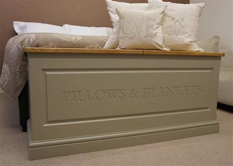 Baseboard Sizes blanket box in a choice of sizes and colours by chatsworth