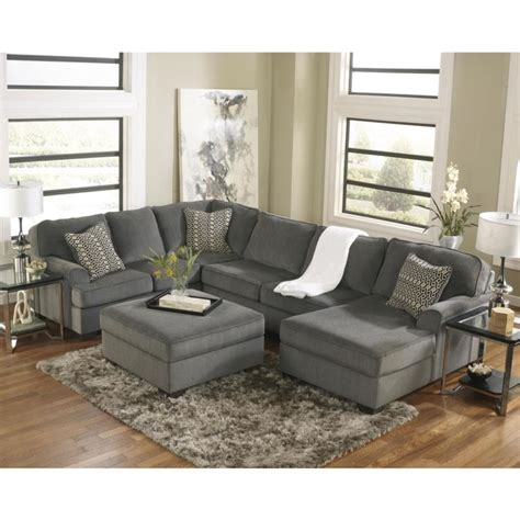 loric sectional ashley sectionals loric 12700 3 pc sectional stationary